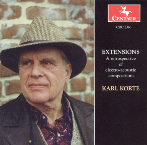 Extensions: A Retrospective of Electro-Acoustic Compositions
