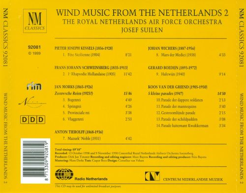 Wind Musik from the Netherlands 2