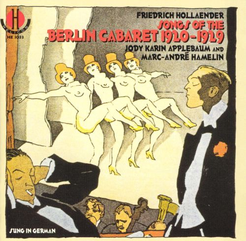 Songs from the Berlin Cabaret 1920-1929