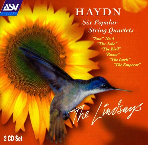 String Quartet No. 27 in D major, Op. 20/4, H. 3/34