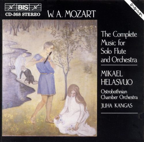 Mozart: Complete Music for Solo Flute & Orchestra