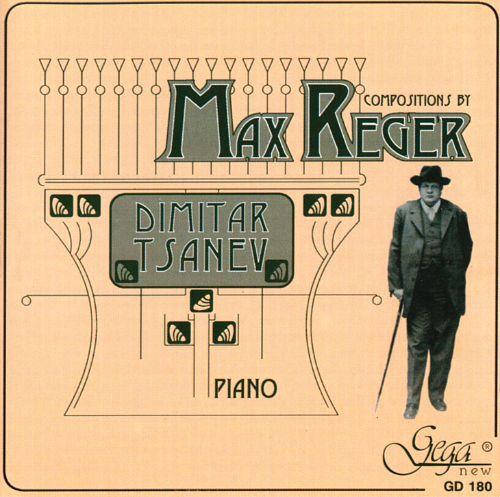 Piano Compositions by Max Reger