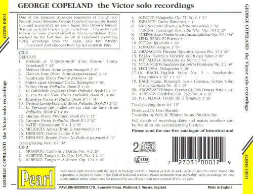 George Copeland: The Victor Solo Recordings