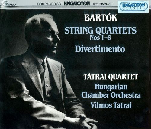Bartók: String Quartets 1 - 6; Divertimento