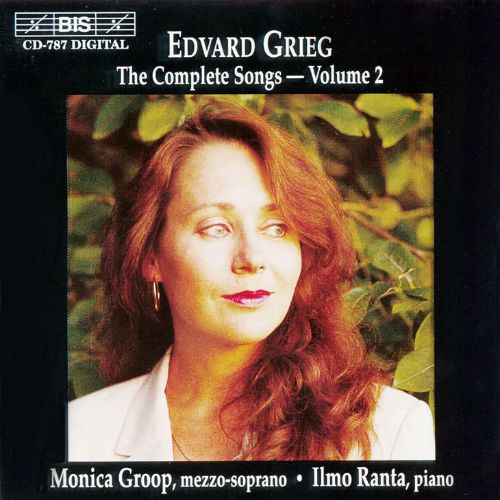 Grieg: The Complete Songs, Vol. 2
