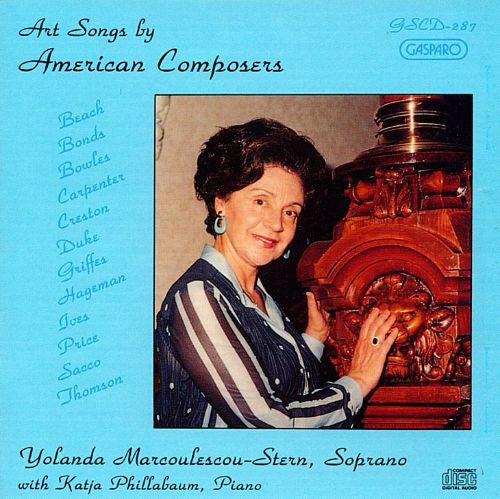 Art Songs by American Composers