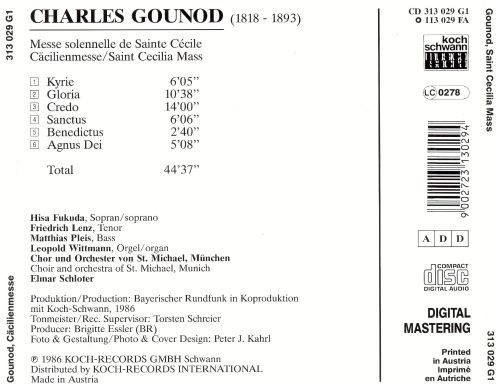 Charles Gounod: Cäcilienmesse