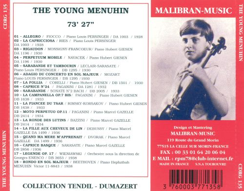 The Young Menuhin