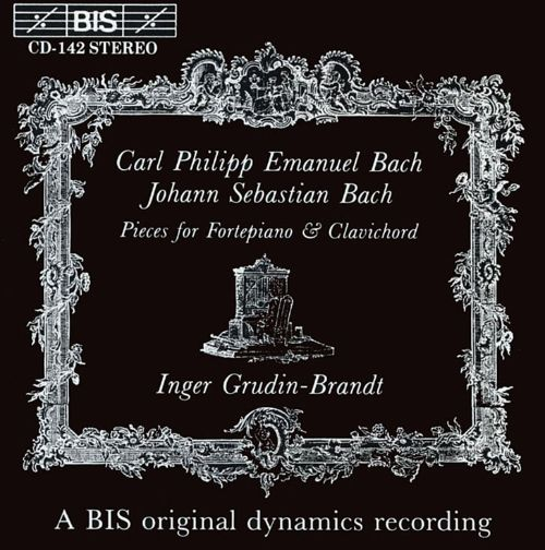 C.P.E. Bach and J.S. Bach: Pieces for Fortepiano and Clavichord