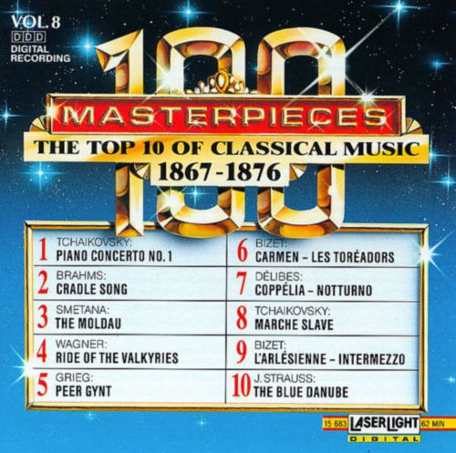 100 Masterpieces: The Top 10 of Classical Music (1867-1876), Vol. 8