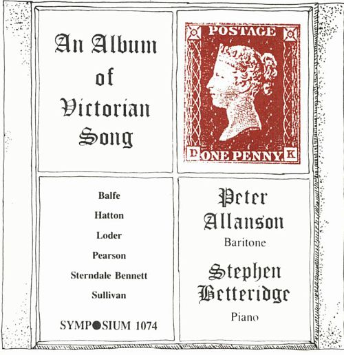 An Album of Victorian Song, Vol 1