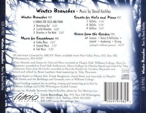 Winter Branches: Music by David Kechley