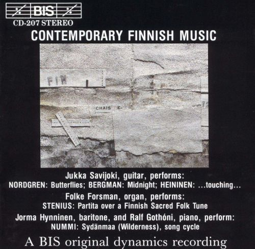 Contemporary Finnish Music