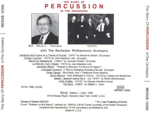 The Story of Percussion in the Orchestra