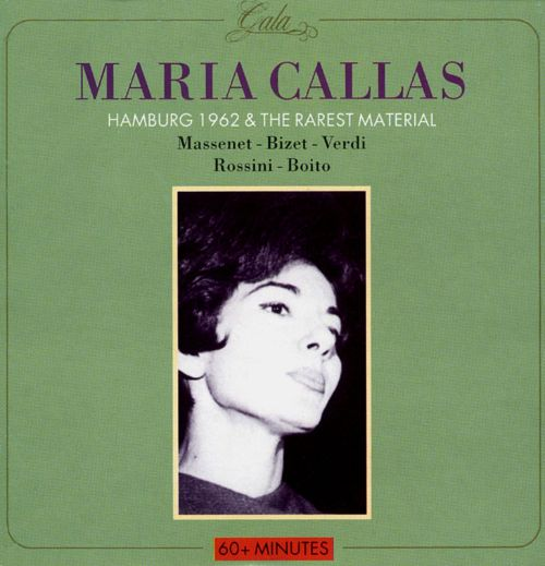 Maria Callas in Hamburg 1962 and the Rarest Material
