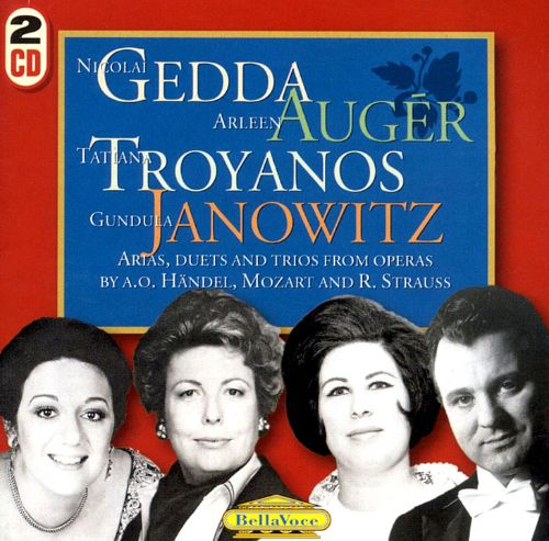Arias, Duets and Trios from Operas by Händel, Mozart and Richard Strauss