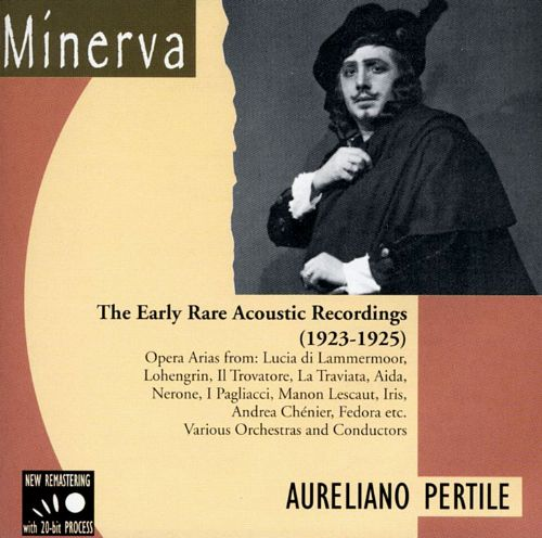 Aureliano Perile The Early Rare Acoustic Recordings (1923 - 1925)