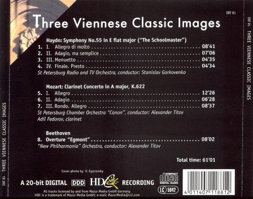 Three Viennese Classic Images