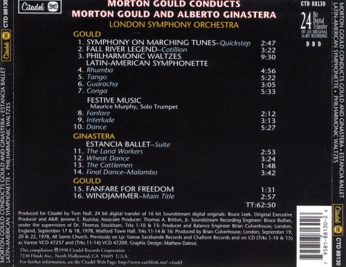 Morton Gould Conducts
