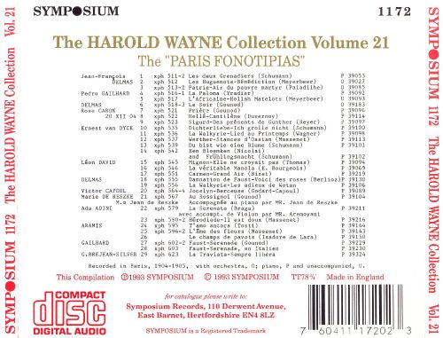 The Harold Wayne Collection Volume 21: The