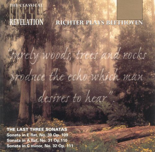 Beethoven: The Last Three Piano Sonatas