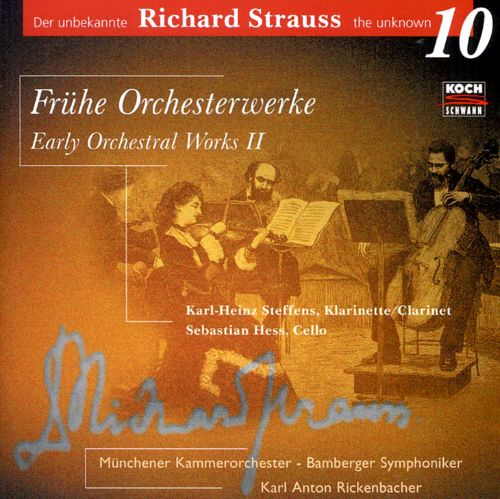 Strauss, the Unknown, Vol. 10: Early Orchestral Works, Vol.2