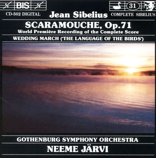 Scaramouche, incidental music for a tragic pantomime for piano & orchestra, Op. 71