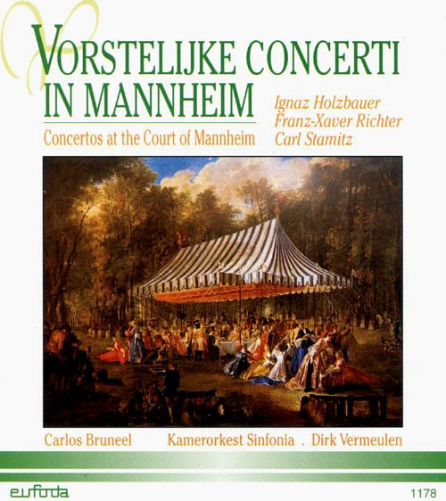 Concertos at the Court of Mannheim