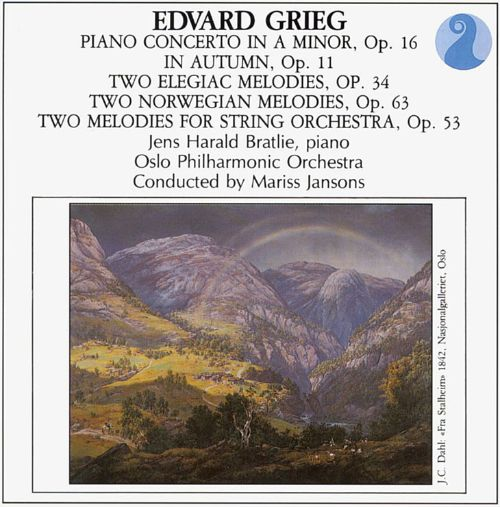 Grieg: Piano Concerto; In Autumn; Melodies