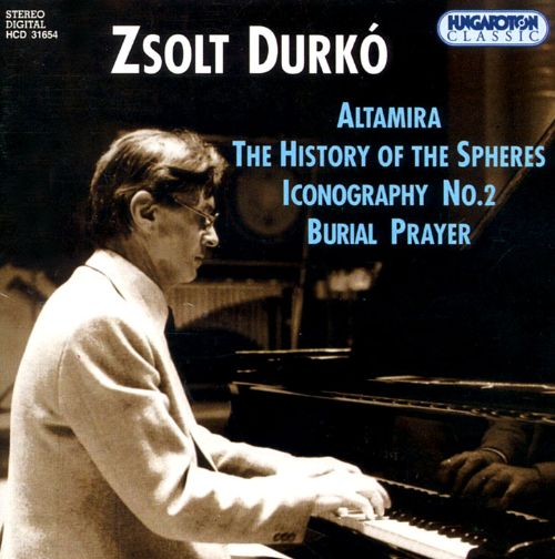 Zsolt Durkó: Altamira; The History of the Spheres; Iconography No. 2; Burial Prayer