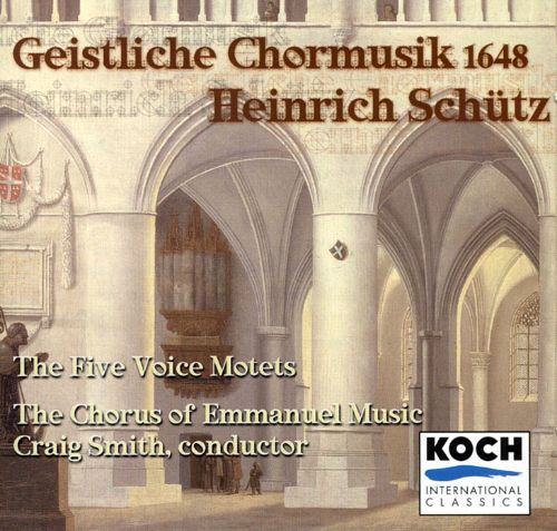 Schutz: Sacred Choral Music from 1648