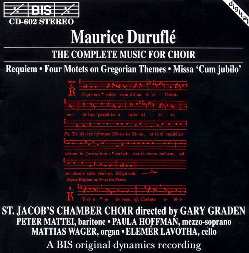 Duruflé: Complete Choir Music