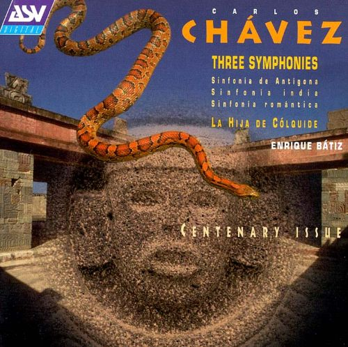 Chavez: Three Symphonies