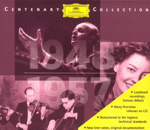 Deutsche Grammophon Centenary Collection, 1948-1957