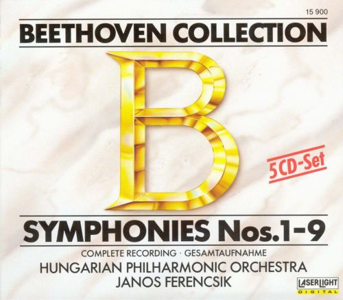 Beethoven Collection: Symphonies Nos. 1-9, Complete