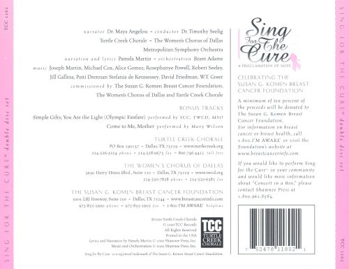 Sing for the Cure: Proclamation of Hope