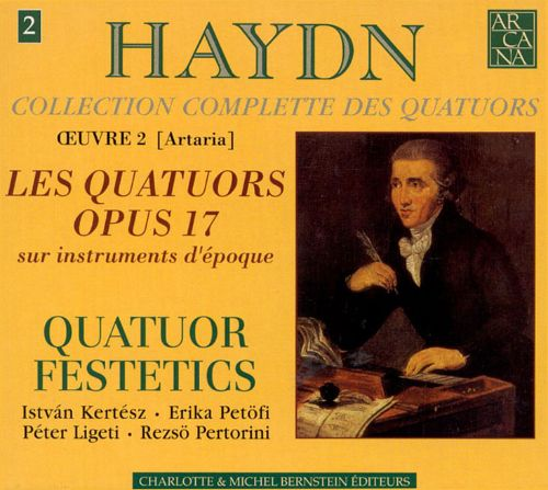 Haydn: Collection Complete des Quatuors, Vol. 2 -  Les Quatuors Opus 17