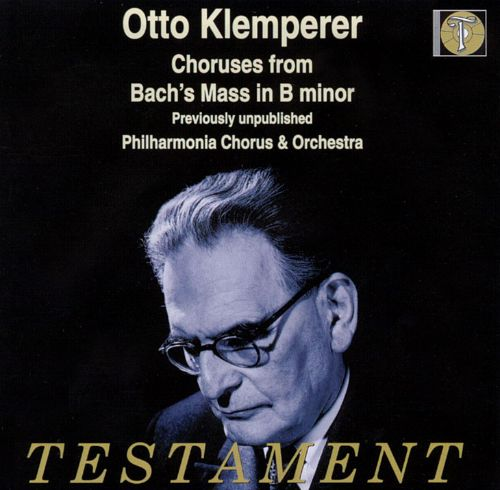 Choruses from Bach's Mass in B Minor