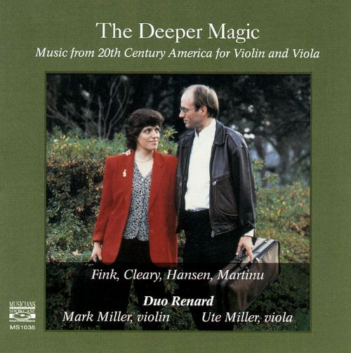 The Deeper Magic: Music from 20th Century America for Violin and Viola