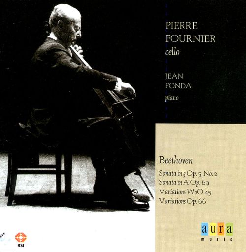 Pierre Fournier Plays Beethoven