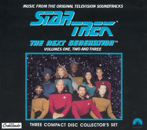 Star Trek: The Next Generation, Vol. 1, 2 & 3 [Box]
