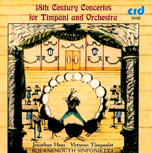 18th Century Concertos for Timpani and Orchestra