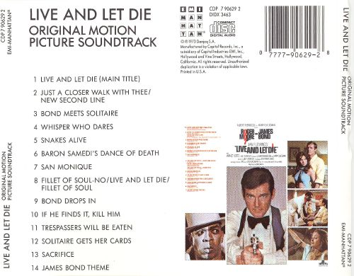 Live and Let Die [Original Motion Picture Soundtrack]