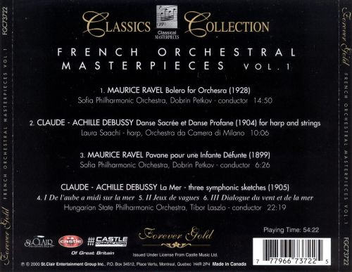 French Orchestral Masterpieces, Vol. 1
