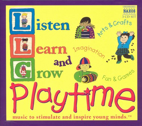 Listen, Learn, & Grow: Playtime