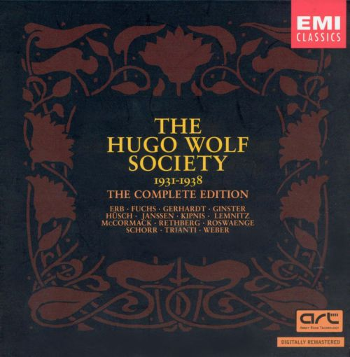 The Hugo Wolf Society Complete Edition