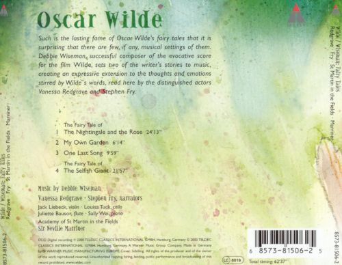 Oscar Wilde: Fairy Tales (The Selfish Giant, The Nightingale and the Rose)