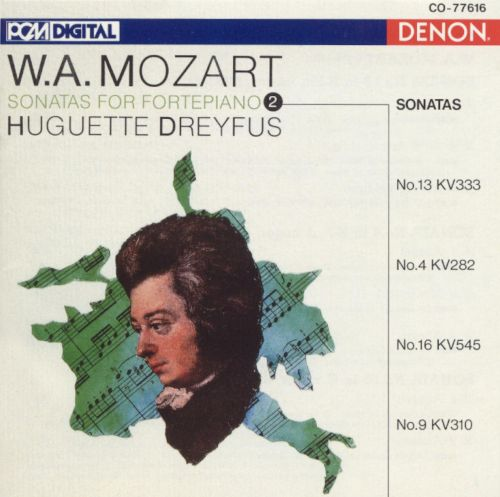 Mozart: Sonatas for fortepiano, Vol. 2