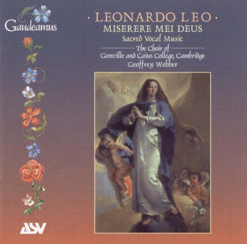 Leonardo Leo: Sacred Vocal Music