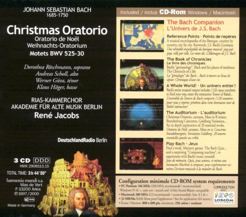 Bach: Christmas Oratorio & Motets